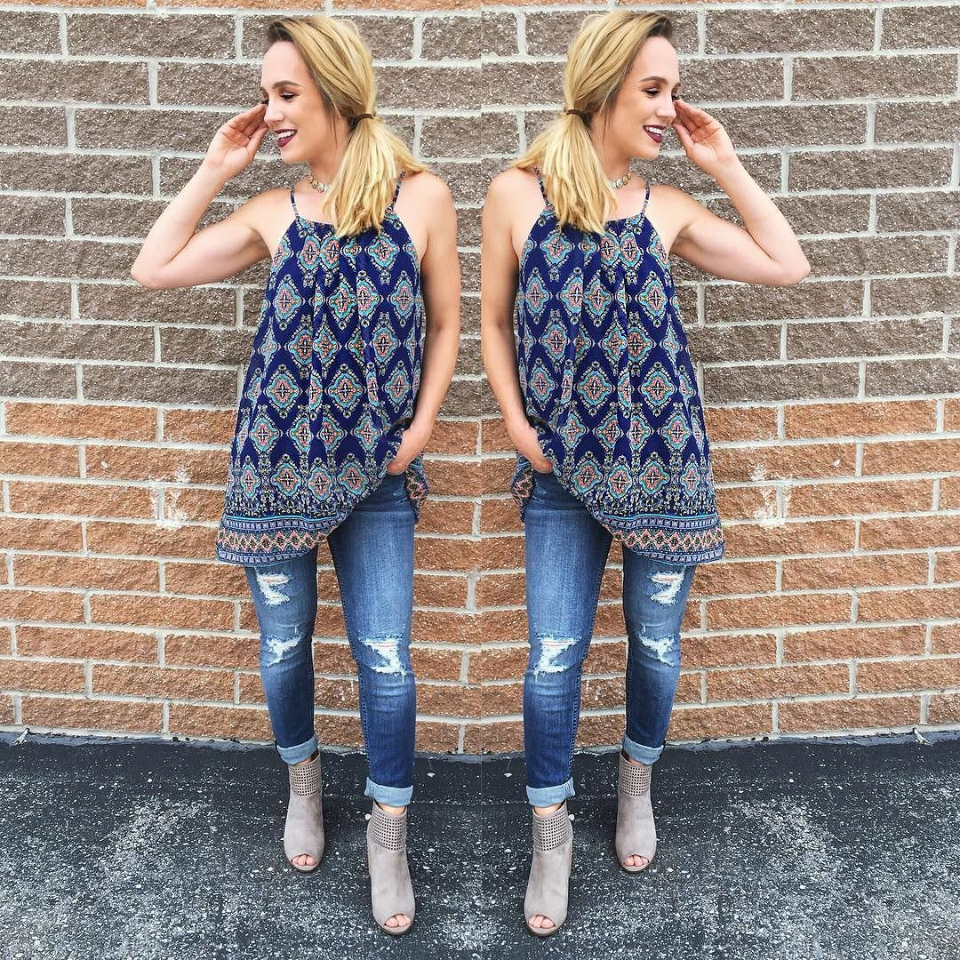 Transition perfectly into fall with long length tunics and skinny ...