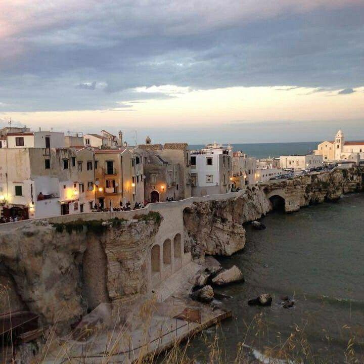 Vieste ( Puglia, Italy), beautiful sunset Gargano