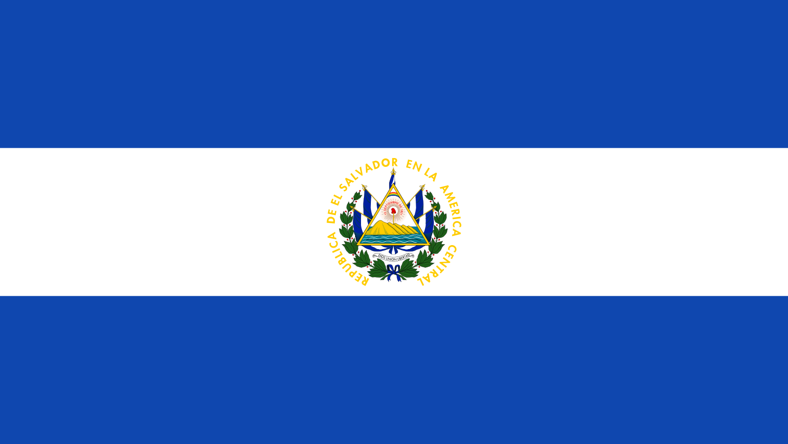 File:Flag of El Salvador.svg (com imagens) | Galeria de bandeiras ...