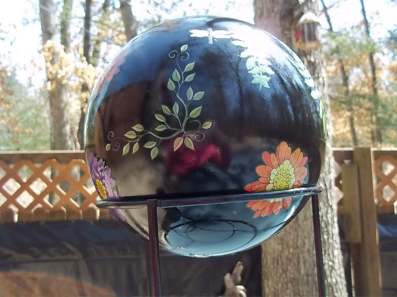 96 best diy gazing ball images on pinterest garden balls garden