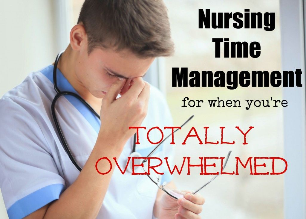 tips from a neuro ICU nurse about how to manage your time when it ...