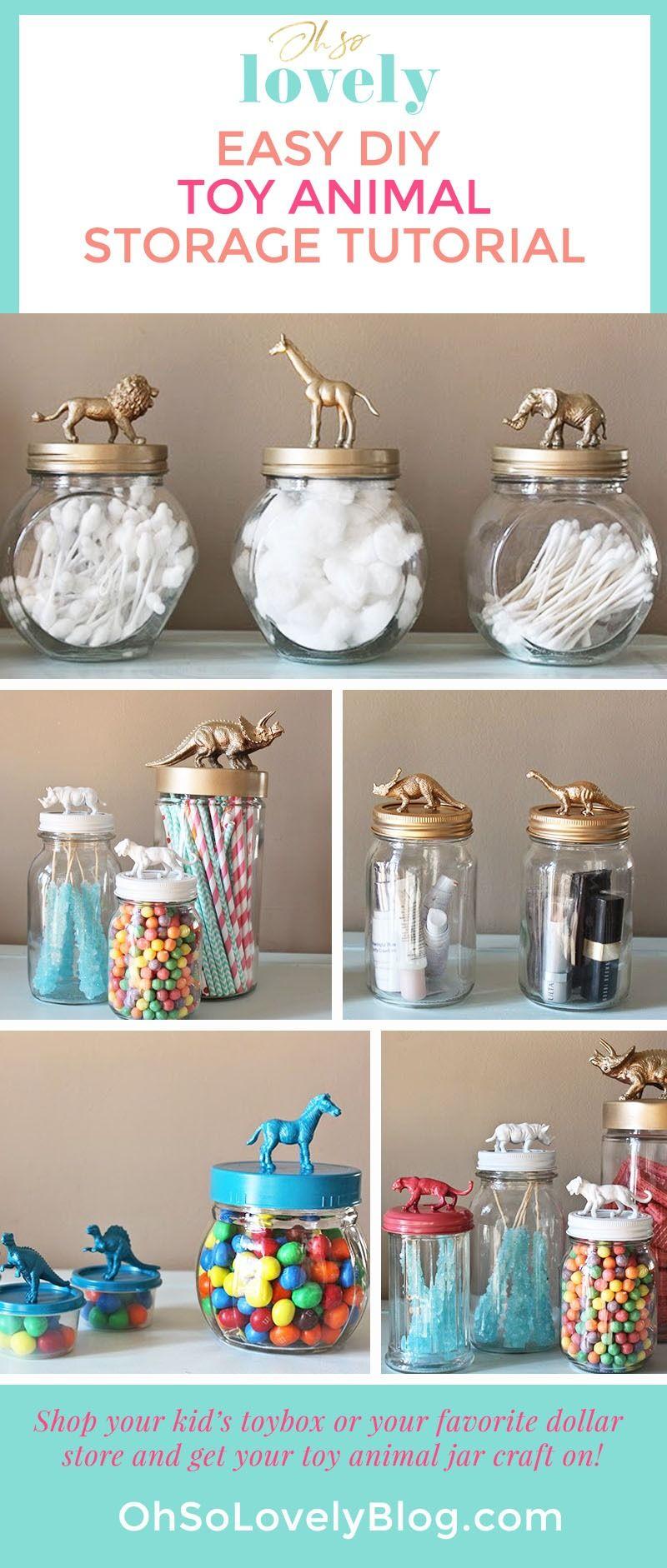Easy Affordable And Fun Diy Toy Animal Jar Tutorial Easy Mason Jar Crafts Diy Mason Jar Crafts Diy Animal Jar