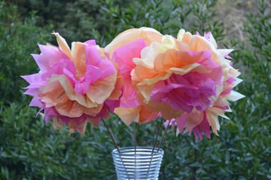 Mother's Day arts and crafts idea: Tissue paper flowers | Women