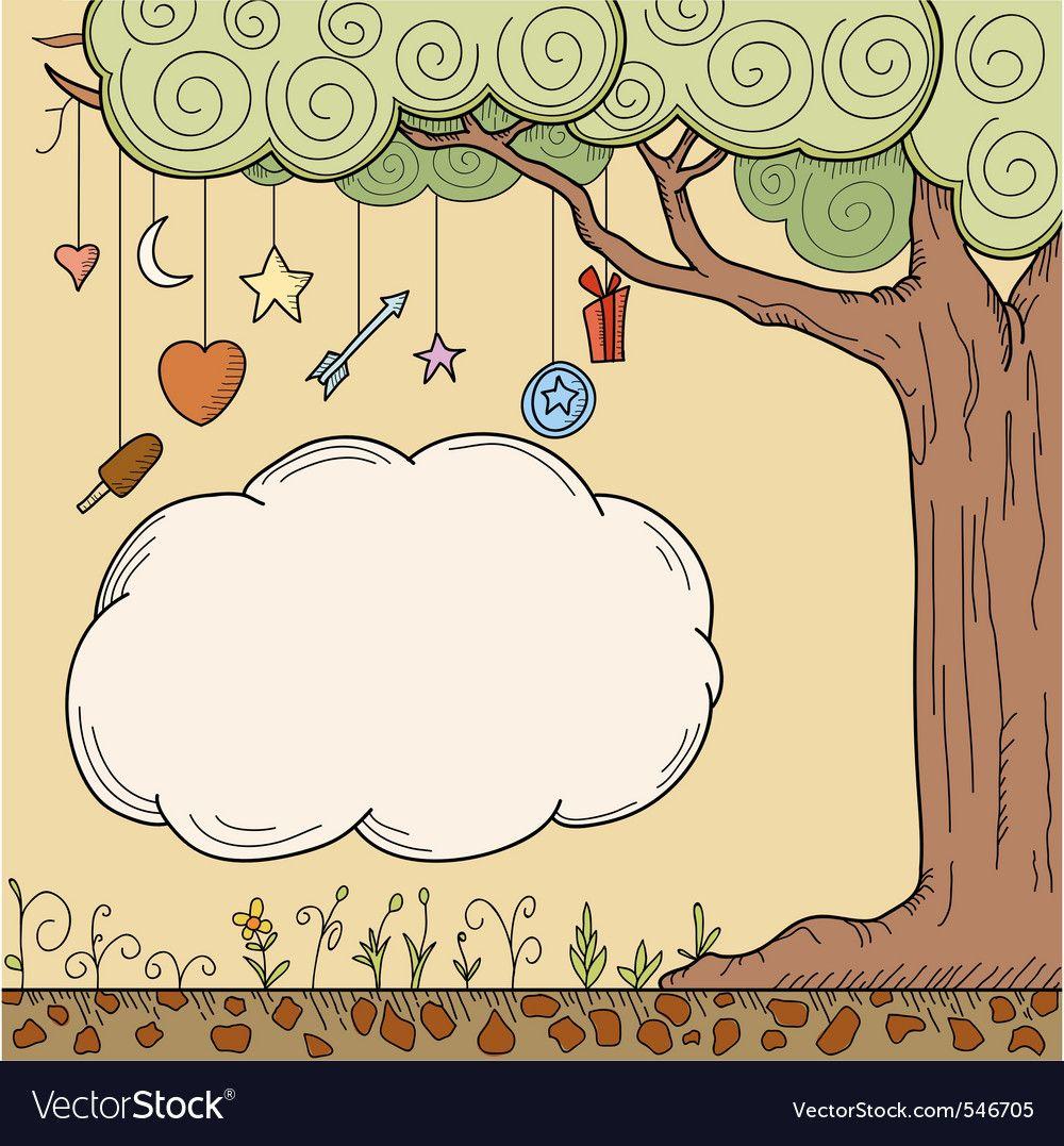 Cartoon Tree Vector Image On Vectorstock Cartoon Trees Vector Illustration Cartoon 50,000+ vectors, stock photos & psd files. pinterest