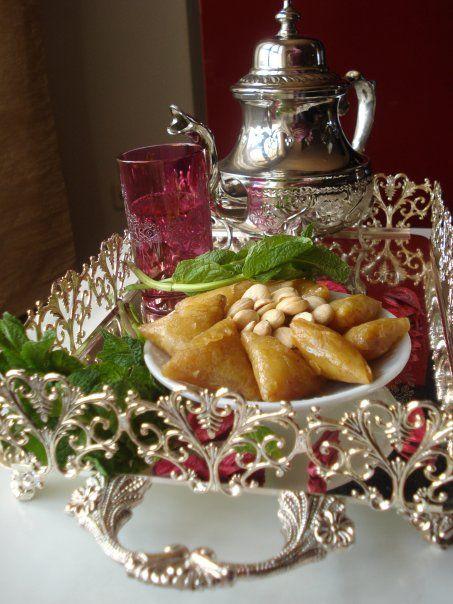 Moroccan Tea With Sweets Moroccan Mint Tea Afternoon Tea High Tea