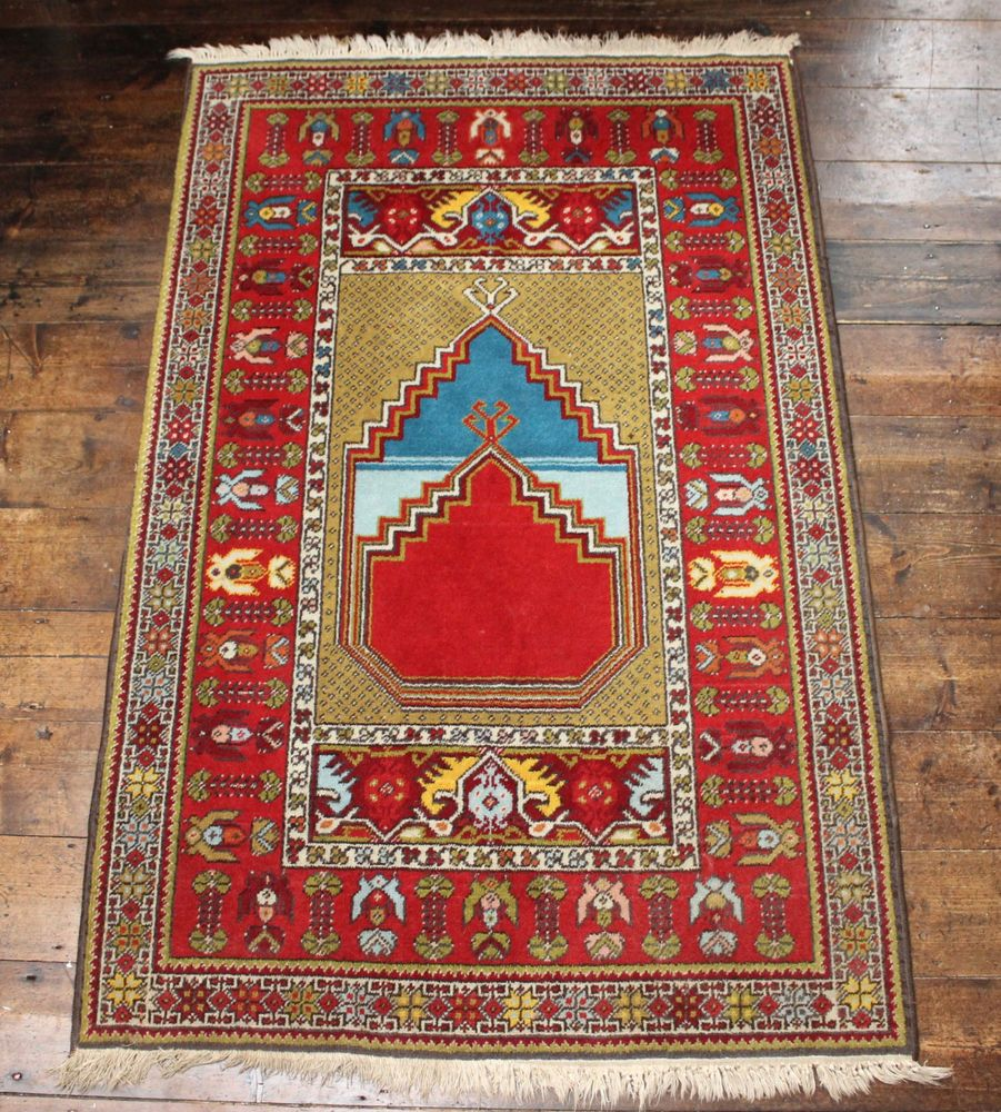 The Gheordez Prayer Rug Was Initially Created: Pin By Adam Charles Antiques On The Great Hall