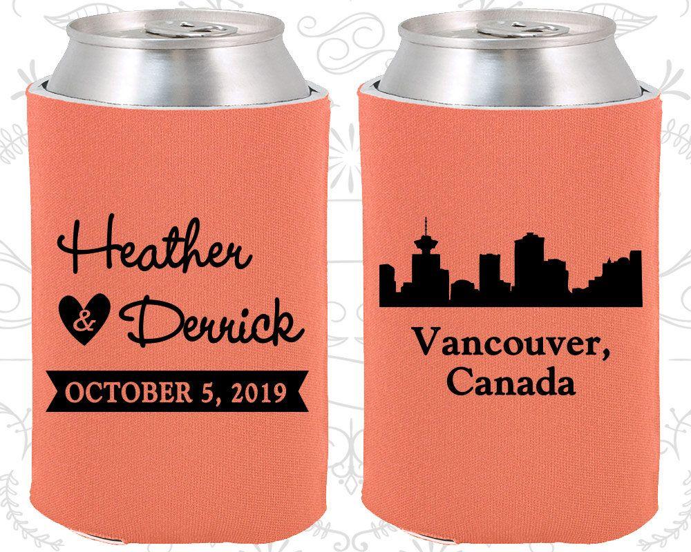 Canada wedding favors coolies destination wedding gift