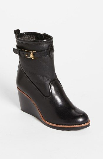 30de6b6cc0ec I really need these boots!!!!! Tory Burch  Primrose  Wedge Bootie available  at  Nordstrom