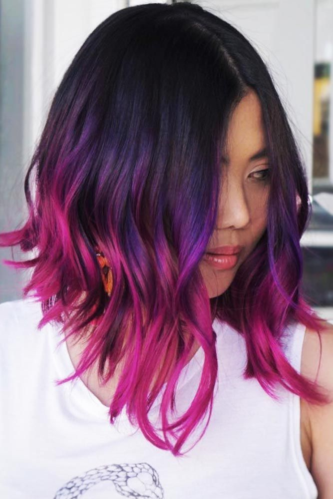 50 Cosmic Dark Purple Hair Hues For The New Image Lovehairstyles Dark Purple Hair Dark Purple Hair Color Purple Ombre Hair