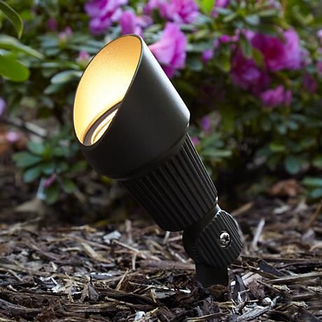 Hooded Low Voltage Bronze 7 1 2 H Led Landscape Spotlight 2c503 Lamps Plus In 2020 Landscape Spotlights Landscape Design Juice Bar Design