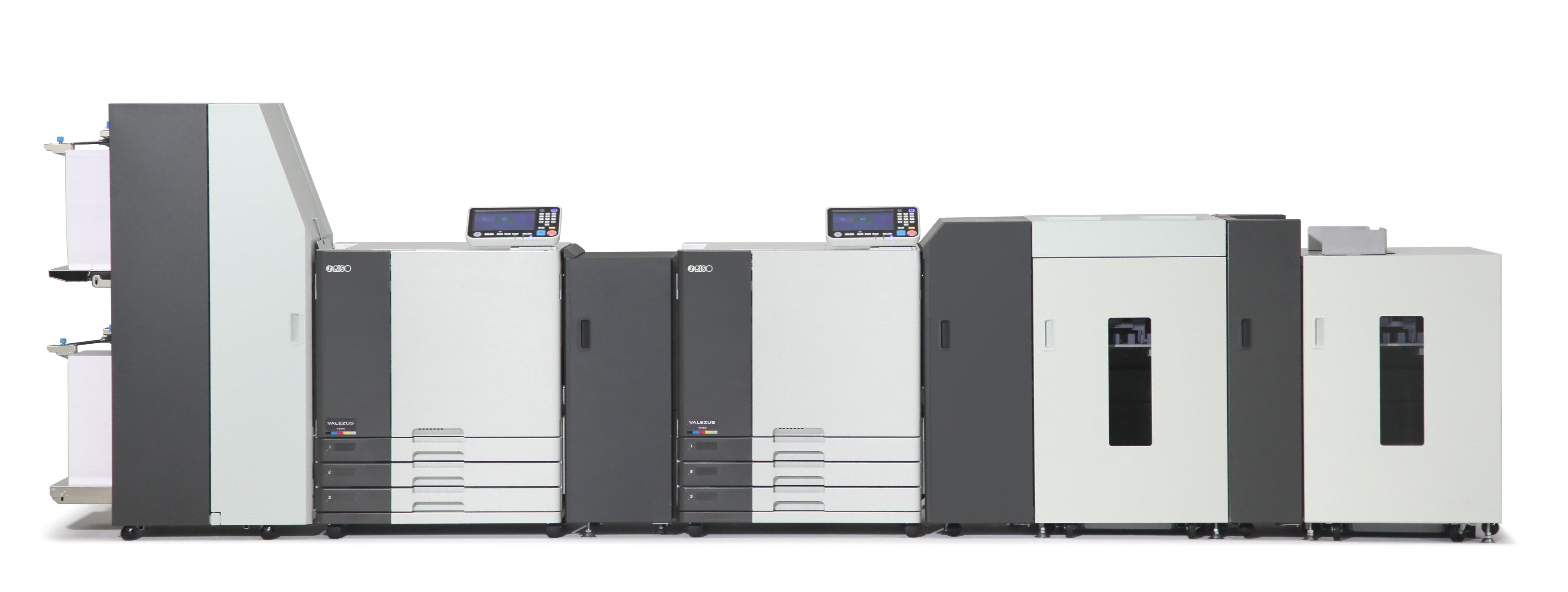 The Riso Valezus T2100 Is A Sheetfed Production Inkjet Device