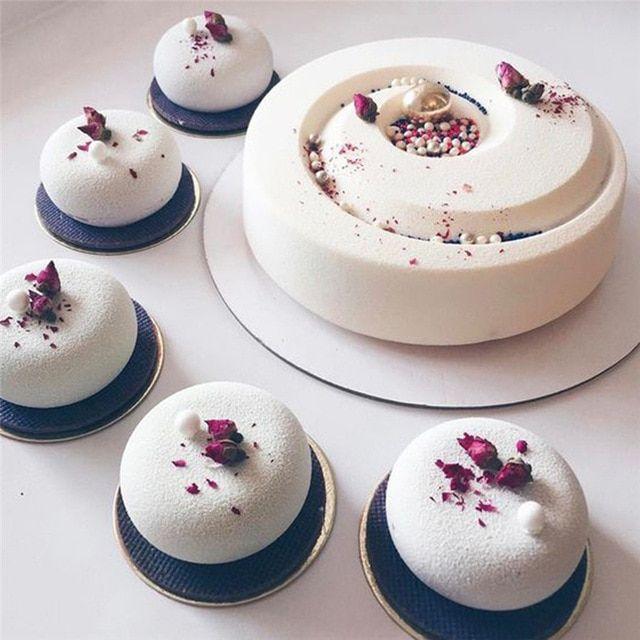 Pin By Summah Mo On Wedding Ideas Non Decor: TTLIFE Non-stick Round Spiral Mousse Cake Mold Chocolate