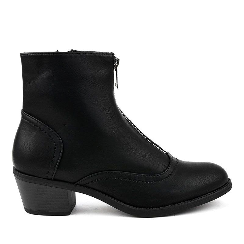 Black boots on the post insulated AB1047   Boots, Black