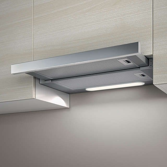 BuyElica Elite 14 60cm Built-In Cooker Hood Stainless Steel Online at johnlewis. : kitchen canopy extractor fans - memphite.com