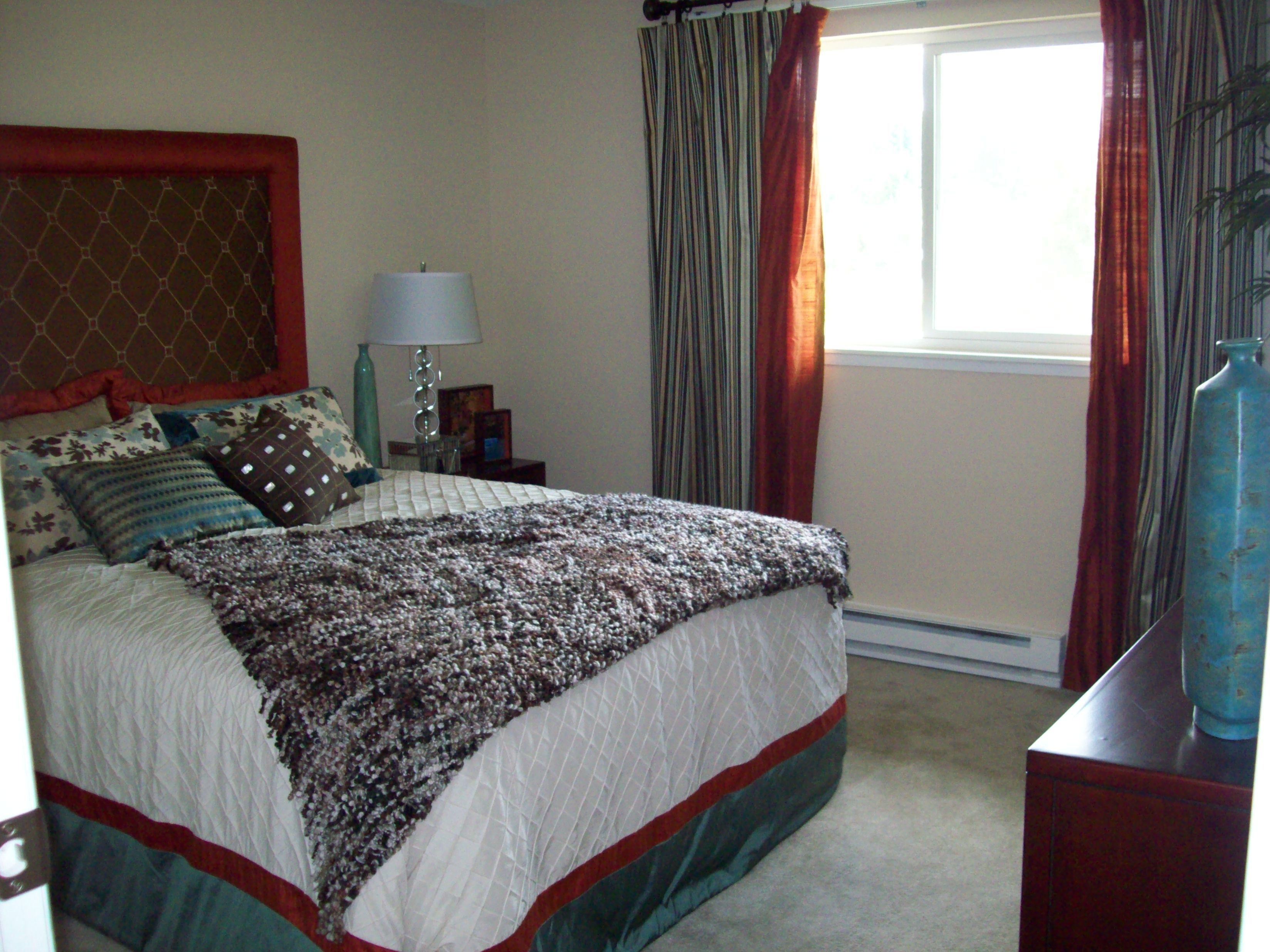 Cascade Onebedroom, One Bath 644 sq. feet Bedroom