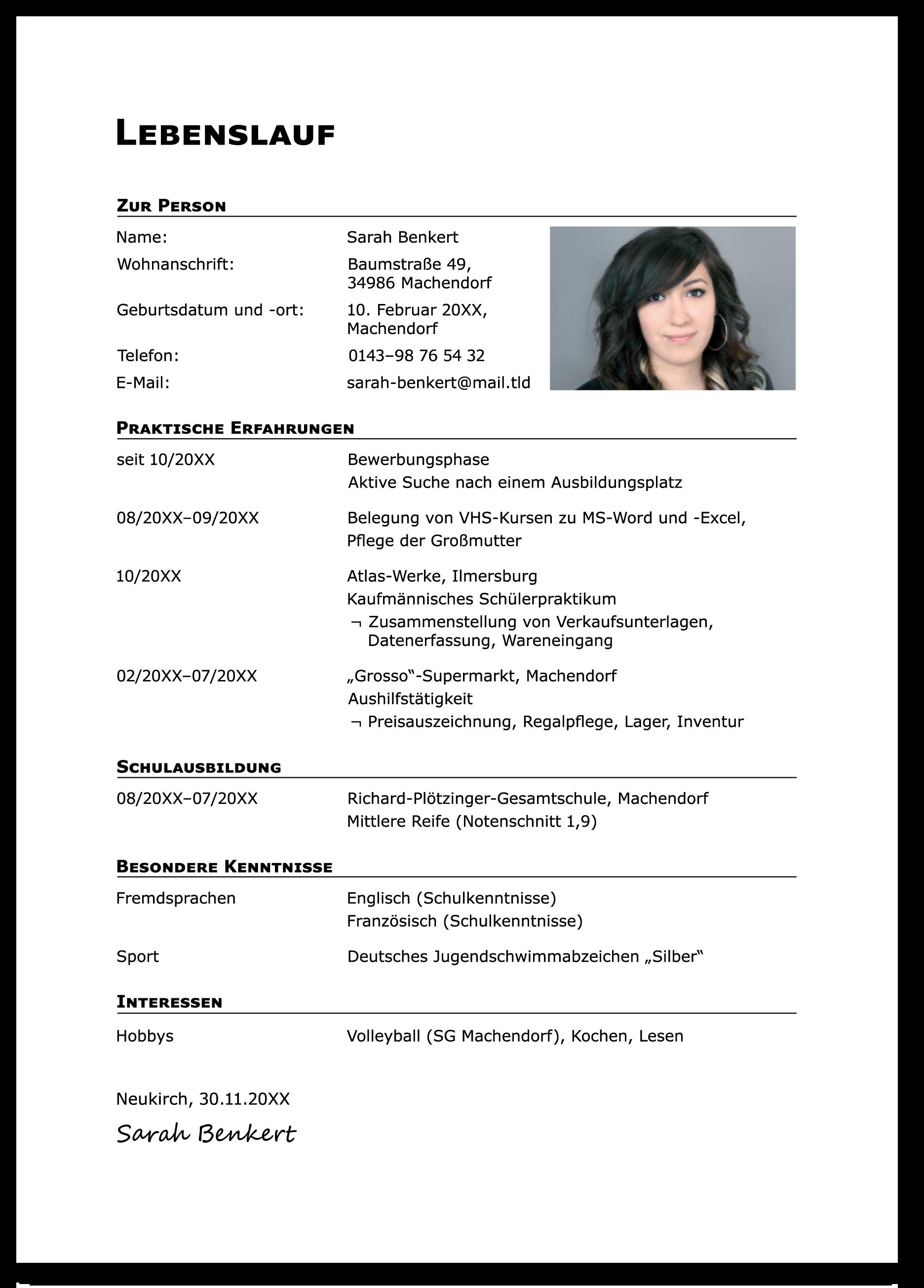 Frisch Der Perfekte Lebenslauf 2015 Briefprobe Briefformat Briefvorlage Perfekter Lebenslauf Vorlagen Lebenslauf
