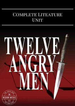 12 Angry Men Complete Drama Unit Teaching Package Unit Plan Pre Reading Activities Teaching