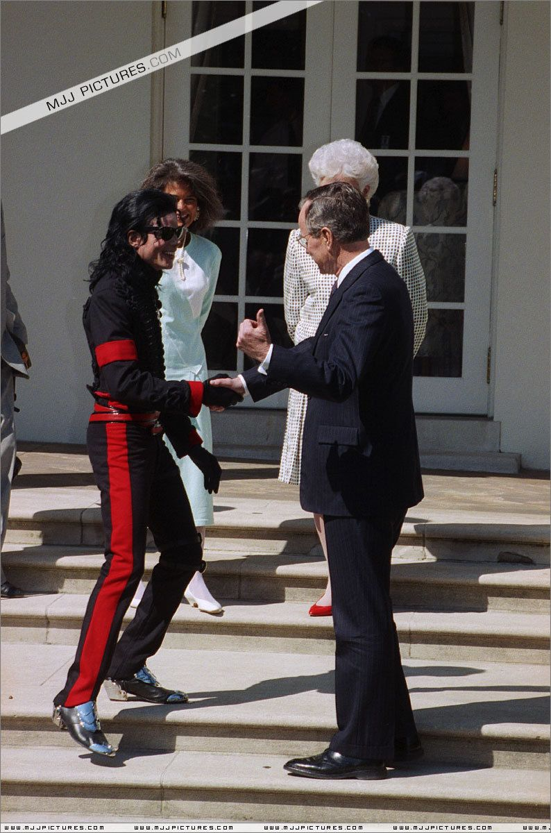 Visit In The White House Michael Jackson Michael