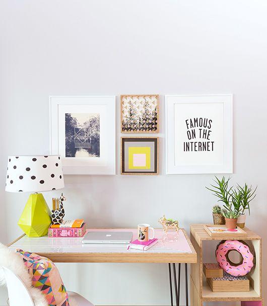 idea para hacer los muebles de madera de la derecha con maderas cuadradas.deny designs + a reader giveaway. / sfgirlbybay