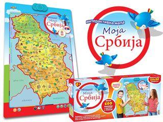interaktivna mapa moja srbija Interaktivna mapa   MOJA SRBIJA! Preko 600 činjenica i pitanja o  interaktivna mapa moja srbija