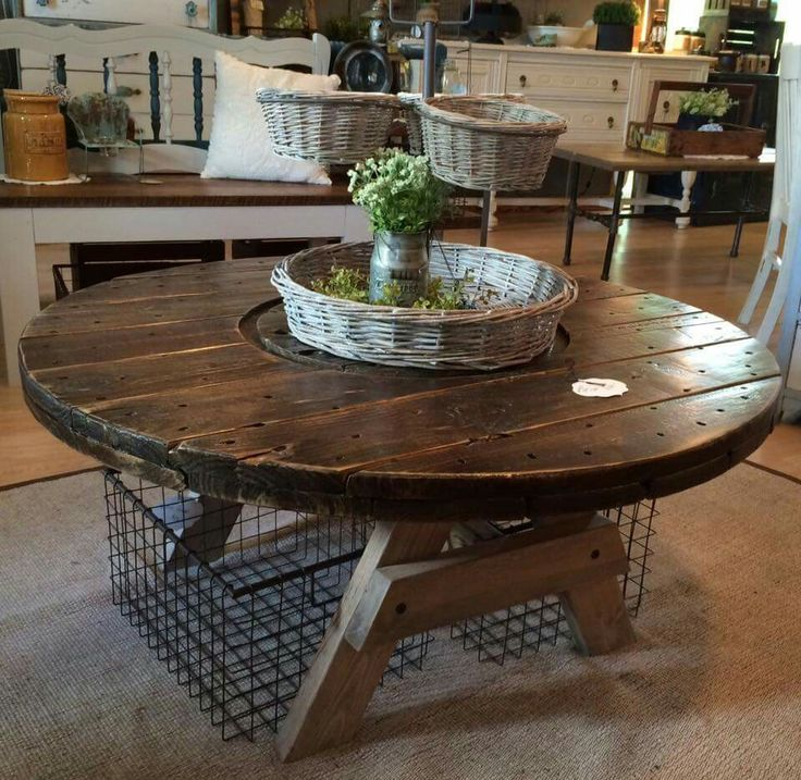 38++ Wire coffee table with wood top trends