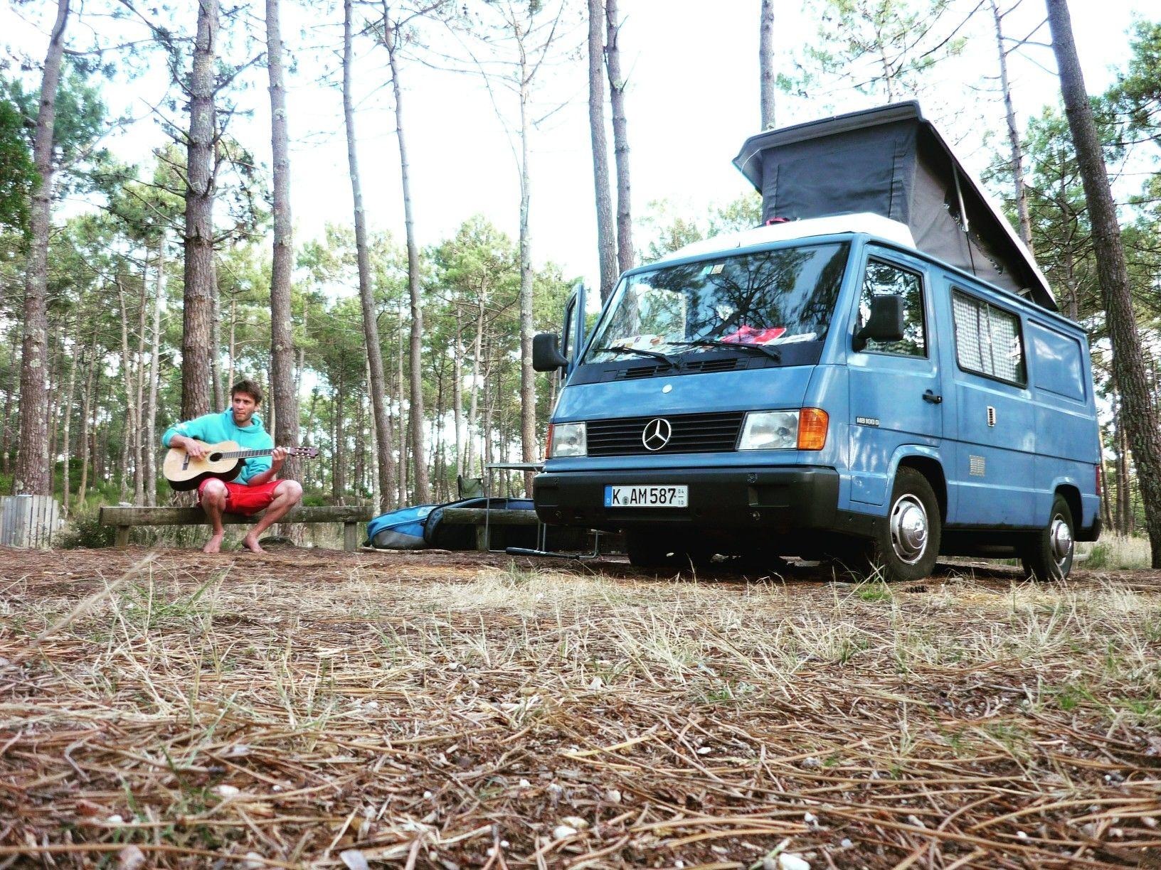 Mb100 enzianblau mercedes cars pinterest mercedes for Mercedes benz camper
