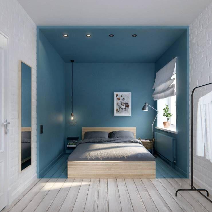 10 raffinierte ideen für kleine schlafzimmer | scandinavian ... - Trends Schlafzimmereinrichtung Tipps
