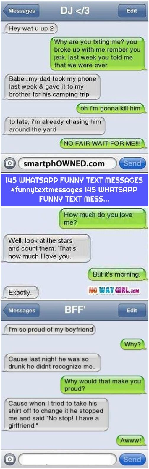 145 WHATSAPP FUNNY TEXT MESSAGES #funnytextmessages 145 WHATSAPP FUNNY TEXT MESS...