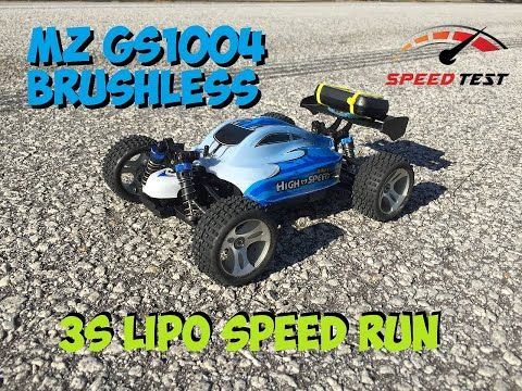 MZ GS1004 1/18 Scale Brushless Buggy 3S Speed Run - YouTube