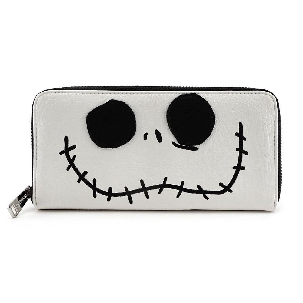759bf8dddaa Loungefly the nightmare before christmas jack face zip around wallet ...