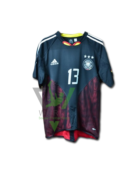 Germany national football team Die Mannschaft Home Adidas UEFA Euro 2004  Short sleeve Football Shirt Trikot fc6fdc59f