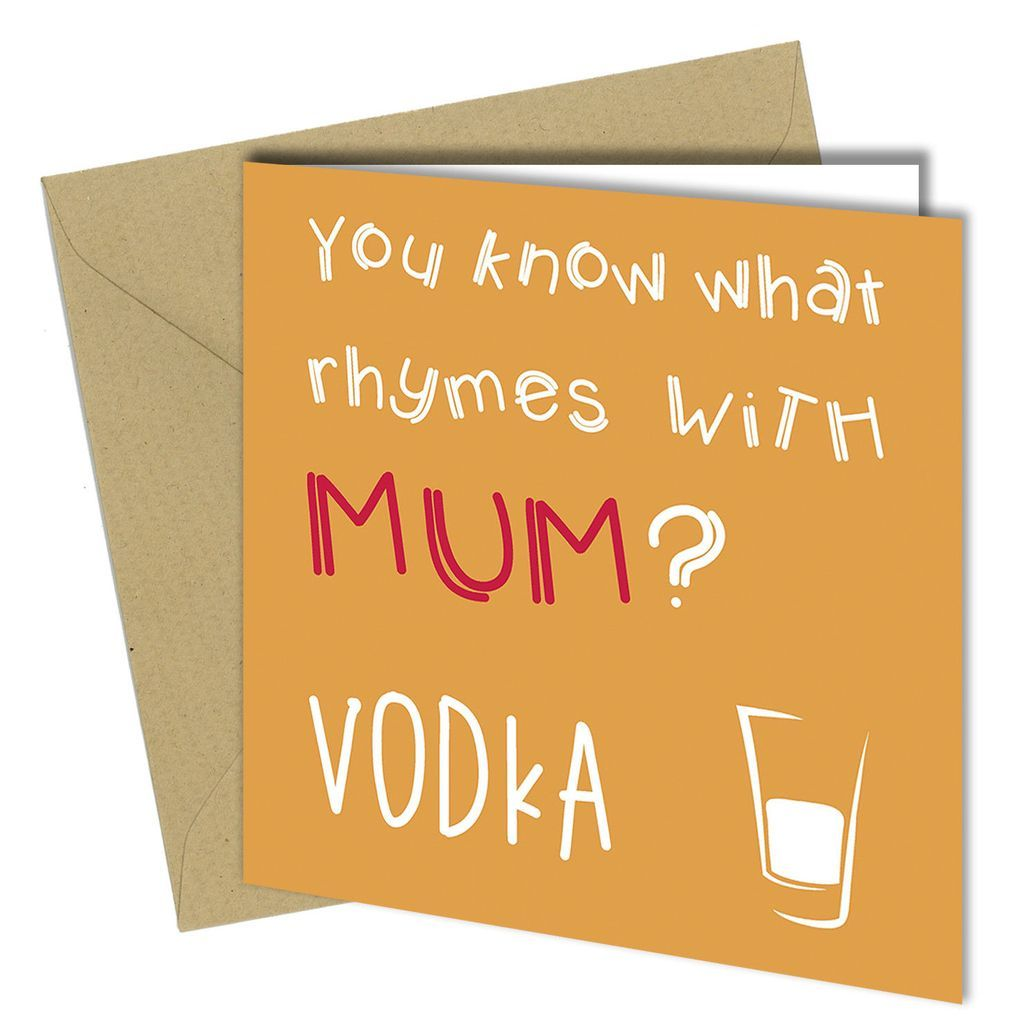 #117 MUM WELL DONE I/'M AWESOME Mothers Day Birthday Card Adult Rude Funny Joke