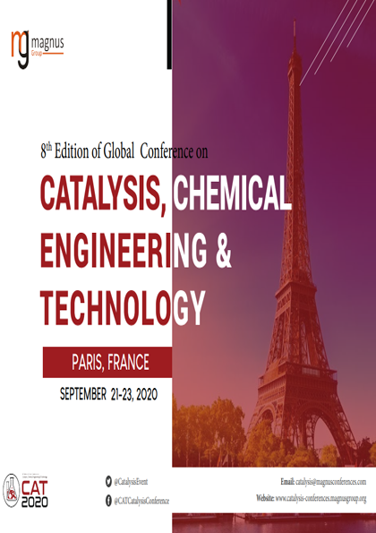 8th Catalysis Chemical Engineering Technology Engineering Technology Chemical Engineering Engineering