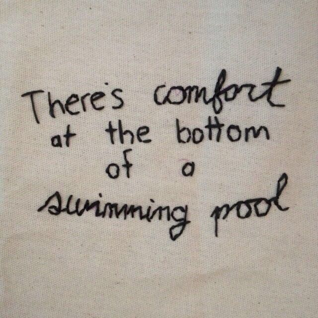 Pinterest qtnatx instagram quotes tattoo quotes words - The front bottoms swimming pool lyrics ...