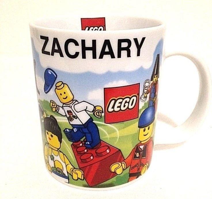 Lego Orlando 2006 Personalized Name ZACHARY Coffee Mug Cup