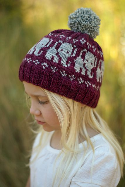 Elephant Park | Hat knitting patterns, Knitting, Knitted hats