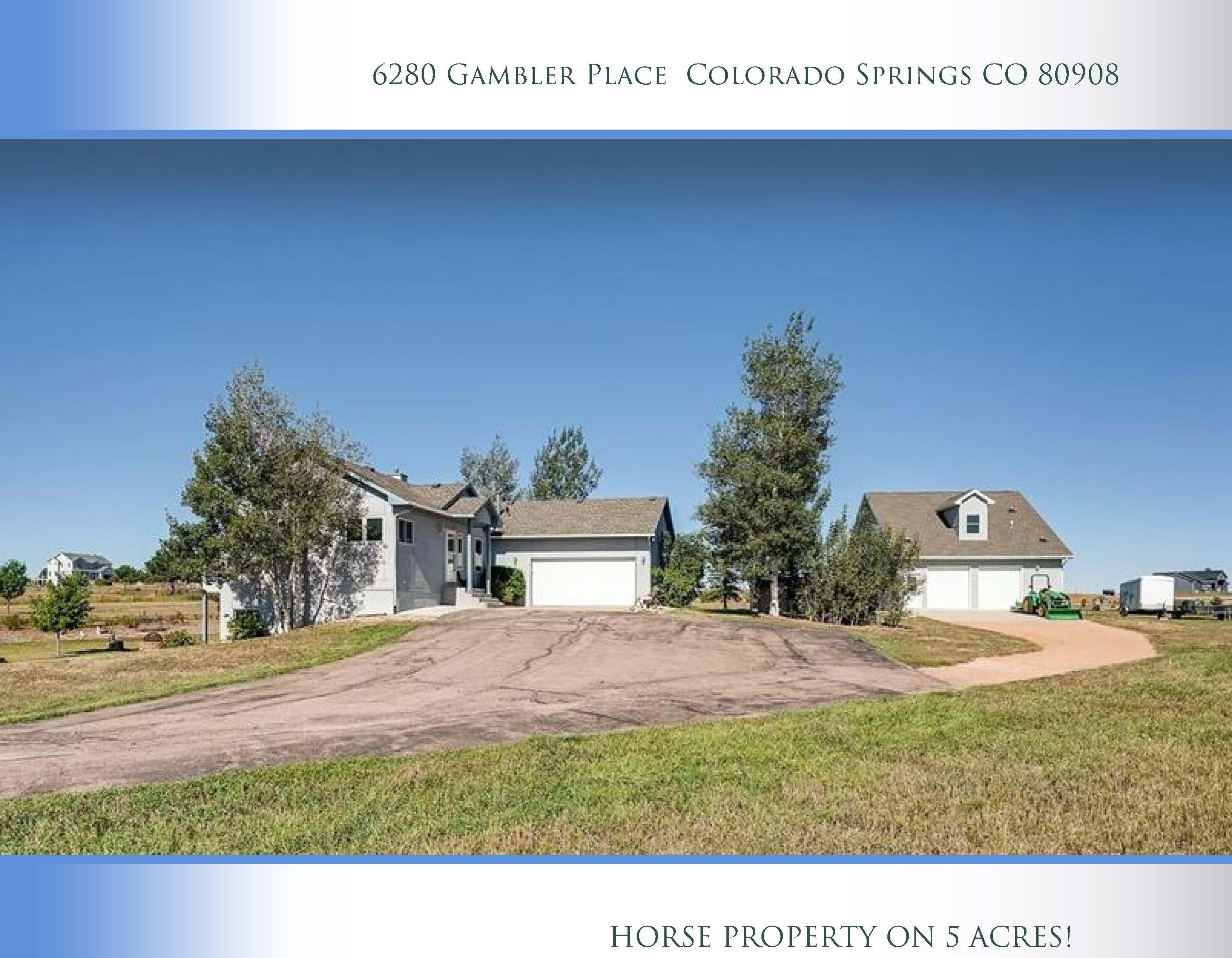 Horse Property on 5 Acres! Horse property, Surround