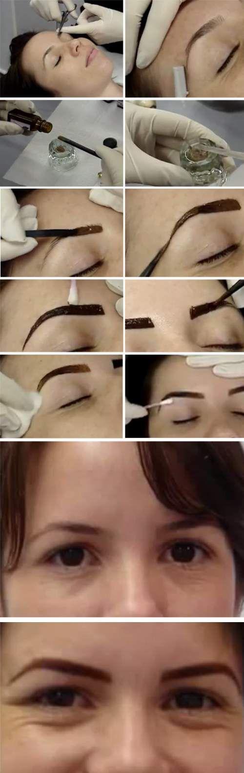 Right Way To Use Henna For Eyebrow Dye Henna Eyebrows Eyebrow Tinting Henna Hair Dyes