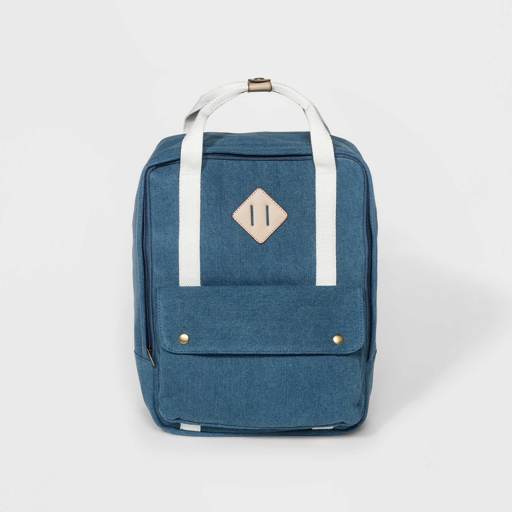 Denim (Blue) Square Backpack Handbag Wild Fable Denim