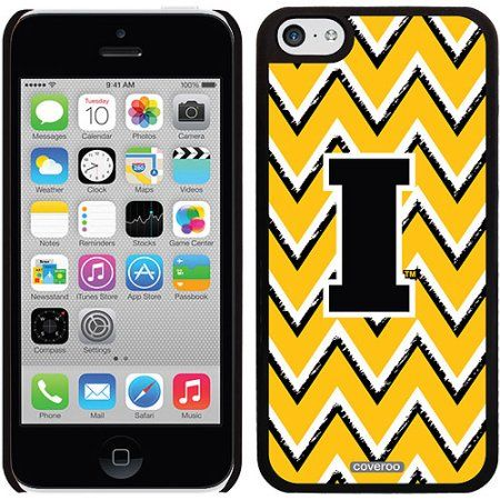 Iowa Sketchy Chevron Design on iPhone 5c Thinshield Snap-On Case by Coveroo