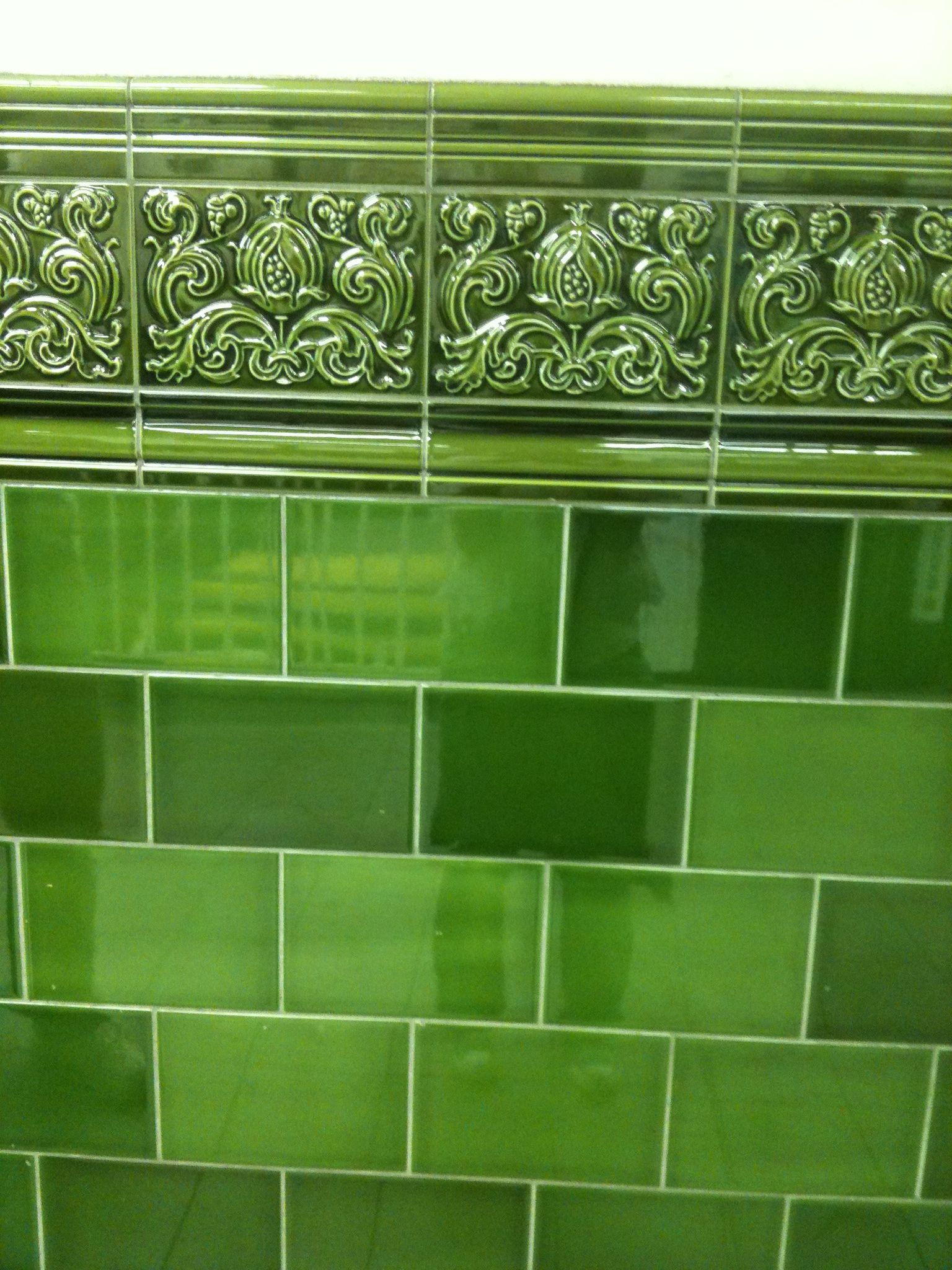 Kitchen Tiles London tiles, chalk farm tube station, london | int. features | tiles