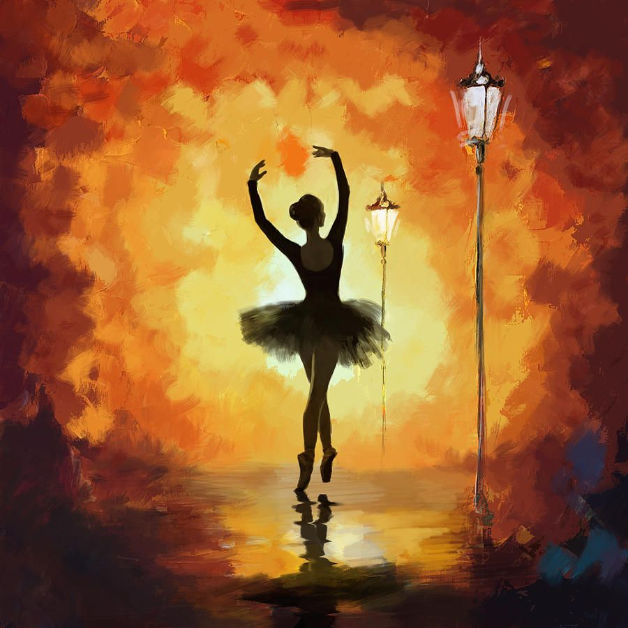 Catf Painting - Ballet Dancer by Corporate Art Task Force ...