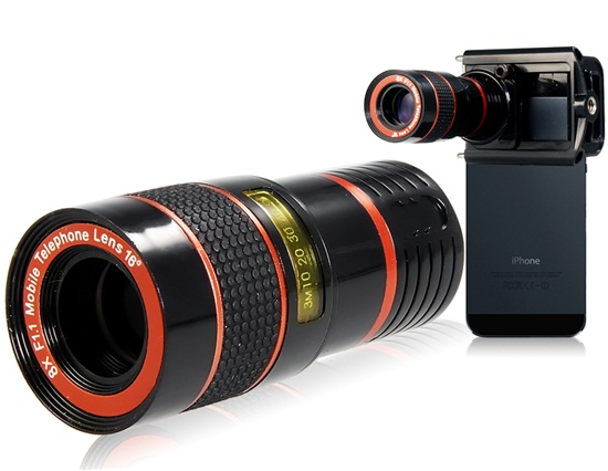 8x Zoom Telescope Lens for iPhone / Samsung Zoom lens