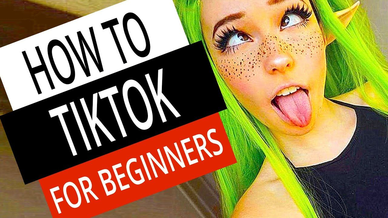 How To Use Tiktok Tik Tok Guide For Beginners Beginners Multiple Social Media Accounts Secret To Success