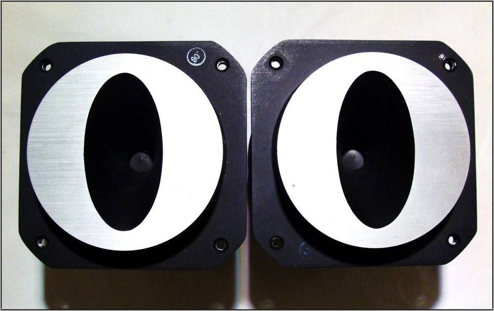 Pair of Working JBL 076 / L220 Cats Eye Super Tweeters ~ Speakers