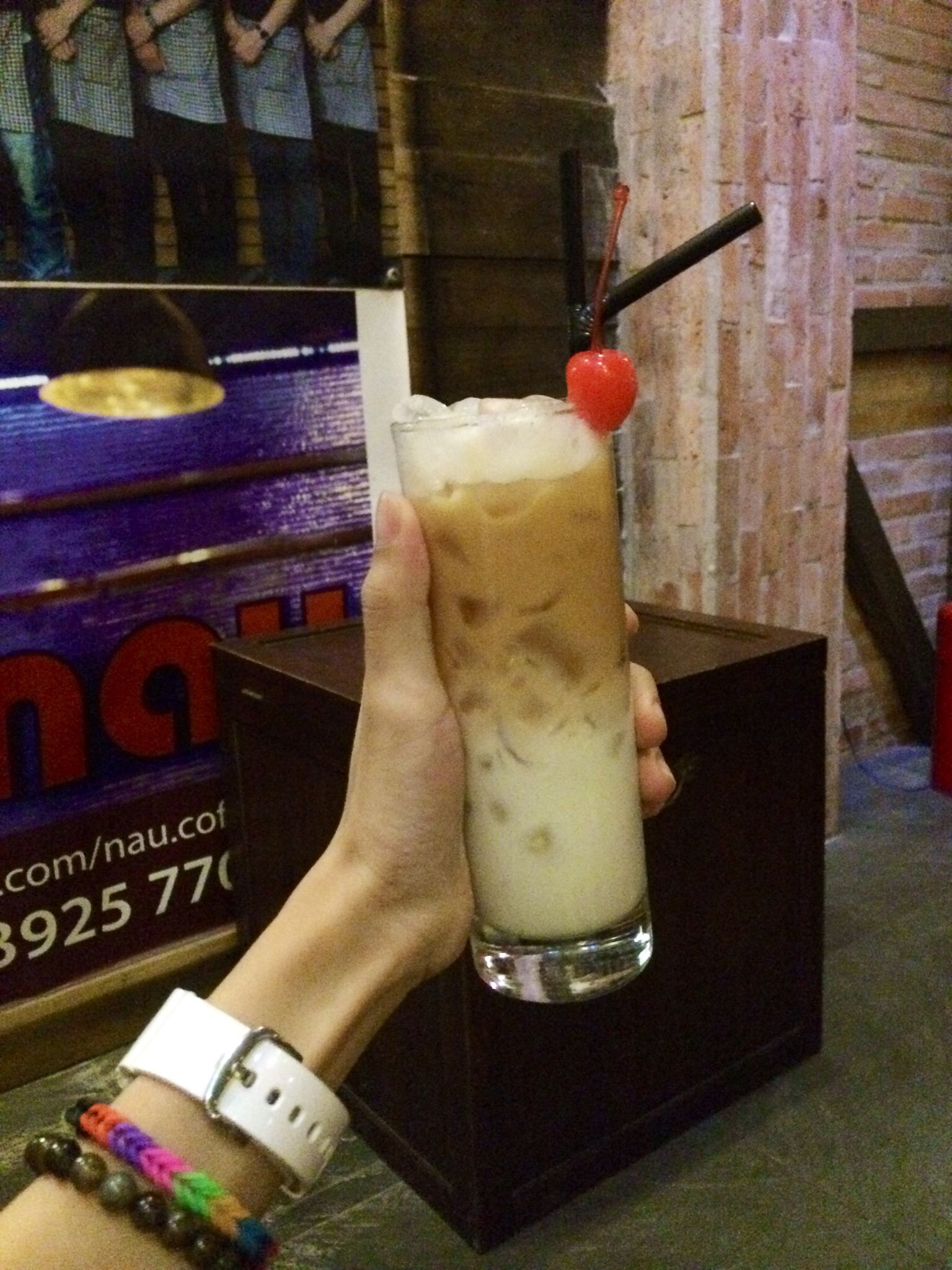 Iced milk tea!