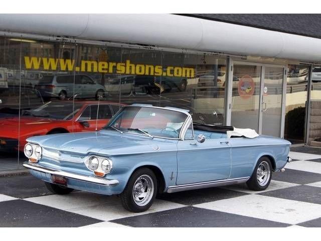 1963 Chevrolet Corvair Convertible Chevrolet Corvair Chevrolet Chevy Corvair