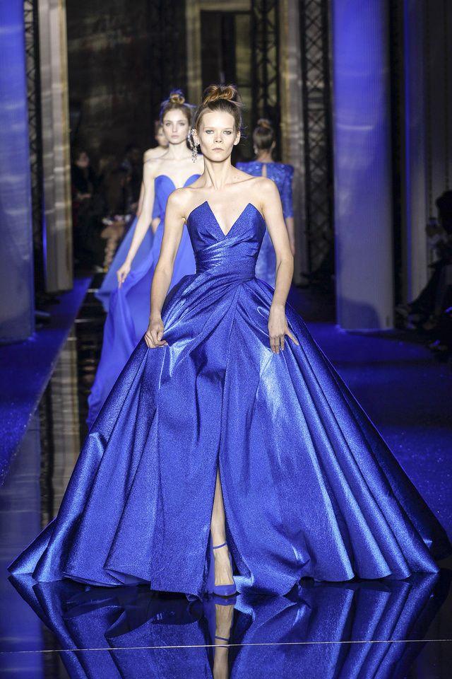 Encantador Vestidos Más El Tamaño Azul De Dama De Honor De La Marina ...