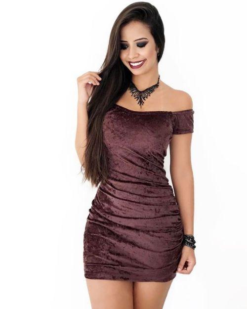 sexy Frauen kurze Kleider
