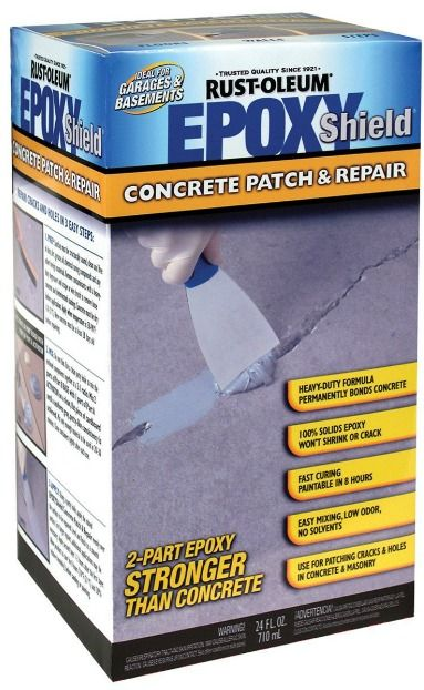 Easily Repair Your Pitted Or Spalled Garage Floor Garage Repair Garage Floor Paint Concrete Floor Repair